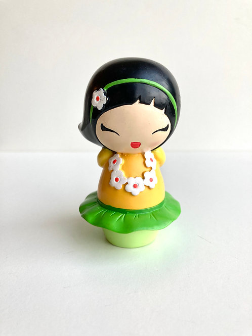 "Vintage Momiji ""Dancing Girl"" Message Doll/Figurine"