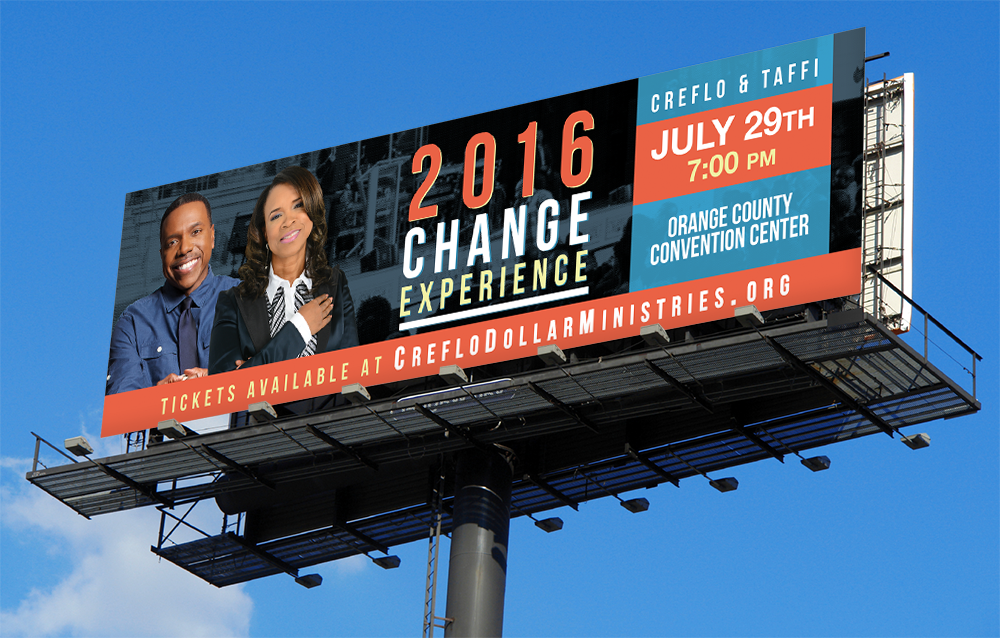 Change Experience Billboard