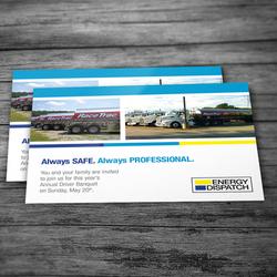 Energy Dispatch Postcard