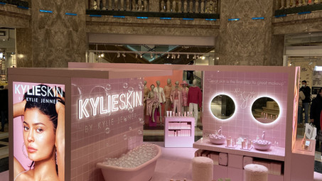 Pop-Up Store Kylie Skin by Kylie Jenner aux Galeries Lafayette Champs Elysées