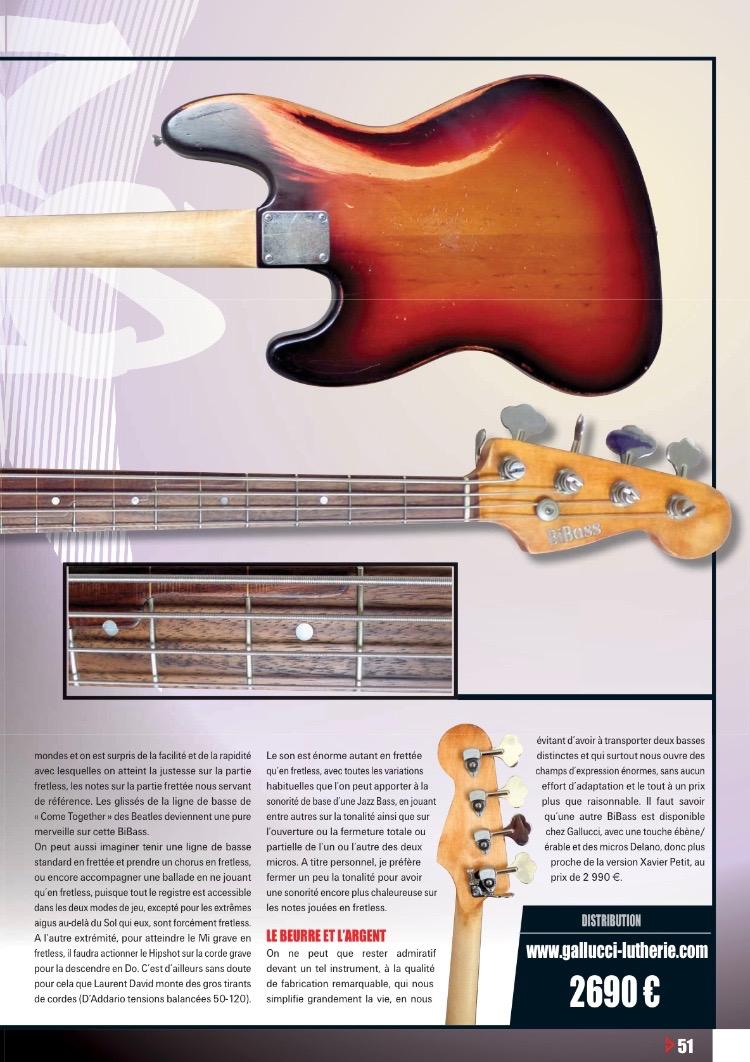 Bassiste magazine bibass