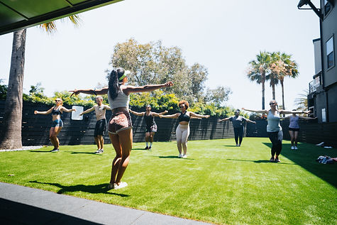 sq.fit provides square footage for fitness professionals to create, teach + film, autonomously.