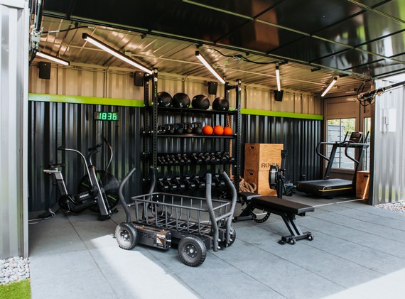 Outdoor Gym Space - sq.fit