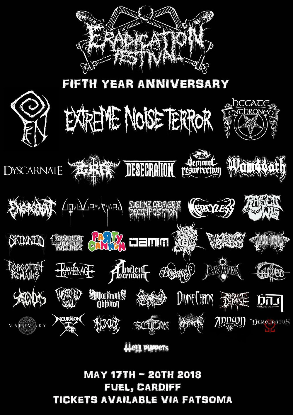 Eradication Festival 2018 line up