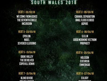 Metal 2 The Masses 2018!