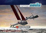 Nomade Sails La solution de transmission d'images en direct depuis un milieu hostile et partout dans le monde