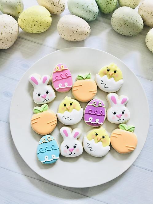 1 DZ Mini Bunny Mix Cookies
