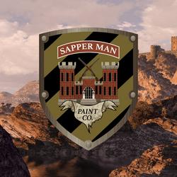 sapperman paint co logo