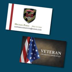 Sapperman Paint Co. Business Card