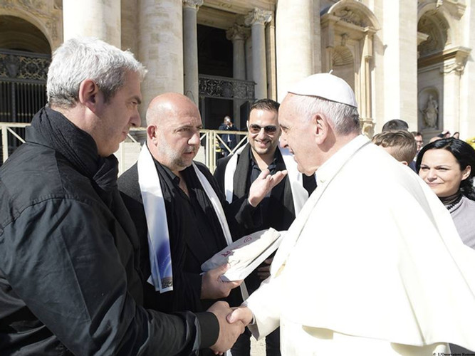 Arapà au Vatican