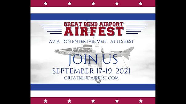 Sneak Peek for 2021 Great Bend Airfest