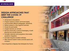 Learning Spaces Laboratory: Design Approaches That Meet the COVID-19 Challenge