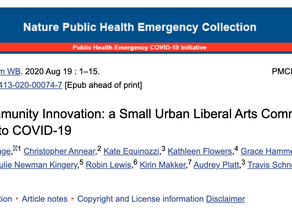 Rapid Community Innovation: a Small Urban Liberal Arts Community Response to COVID-19