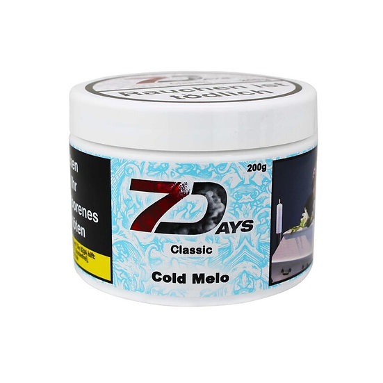 7Days Tabak Classic - Cold Melo 200g