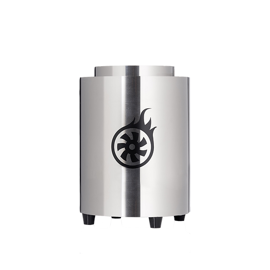 Shisha-Turbine® NeXt Hochglanz Edelstahl