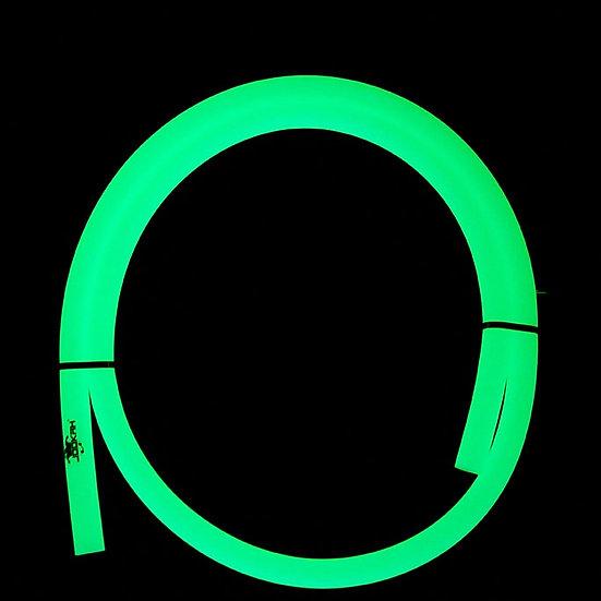 Jookah - Silikonschlauch Glow Grün Matt