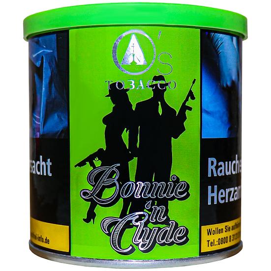 O's Tobacco Green 1kg Bonnie 'n Clyde
