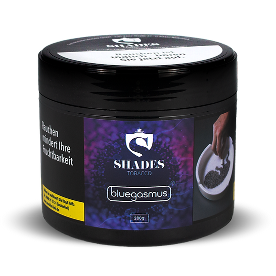 Shades Tobacco 200g - Bluegasmus