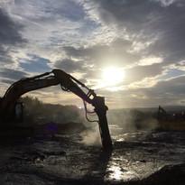 Remediation of a Former Sludge Lagoon, N