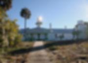 Seahorse Key Light Station with Sun Refl