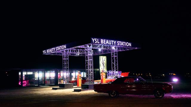 YSL BEAUTY STATION  COACHELLA 2019 EVENT & CONTENT