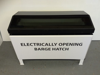 Introducing NEW Electrically Opening Barge Hatch