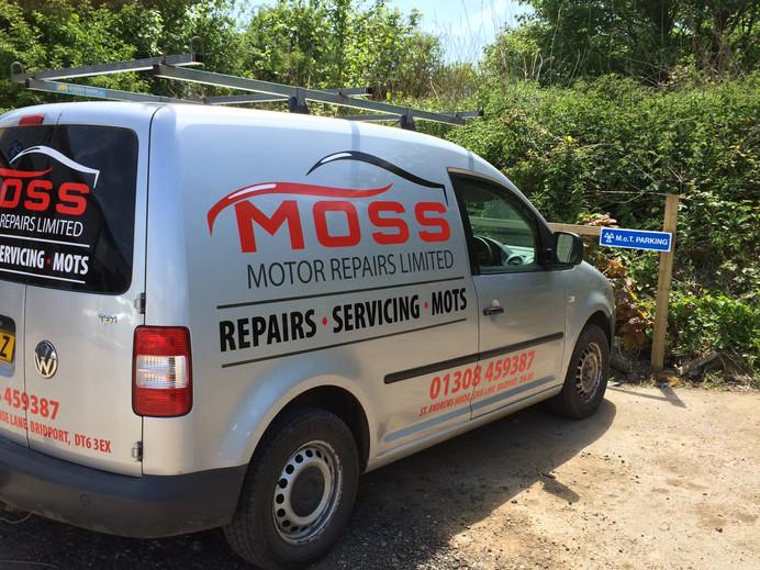 Moss Motors Vehicles Graphics