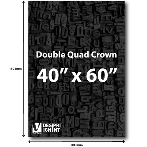 """40"""" x 60"""" Poster"""