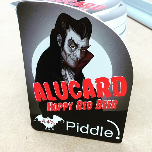 beer Pump Clip Cards