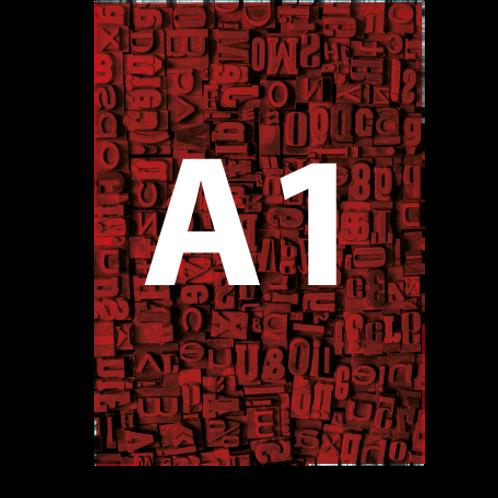 A1 Backlit Poster