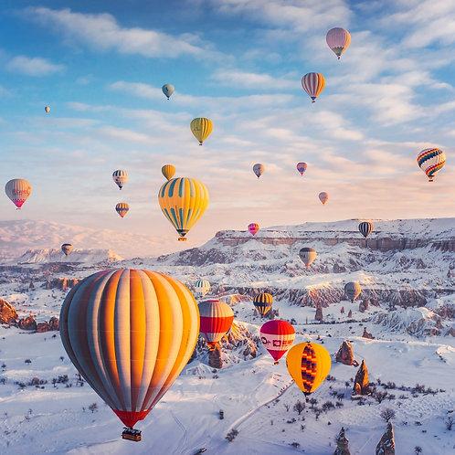 Snowy Cappadocia