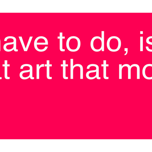 I don't like (most) art, and that's ok