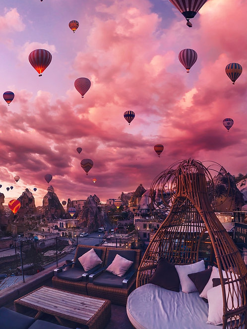 One of the best Cappadocia views