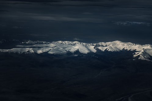 The view on Qilian Mountain