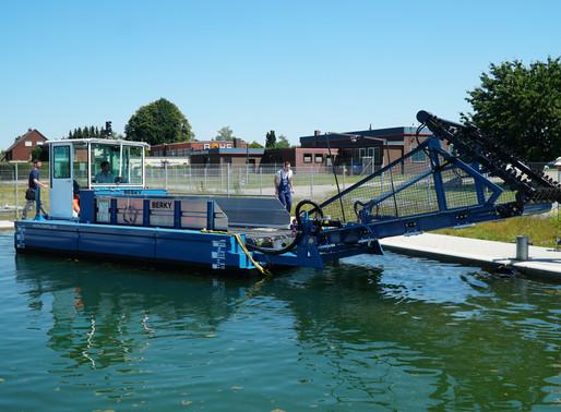 Unser Müllsammelboot CollectiX ist startbereit