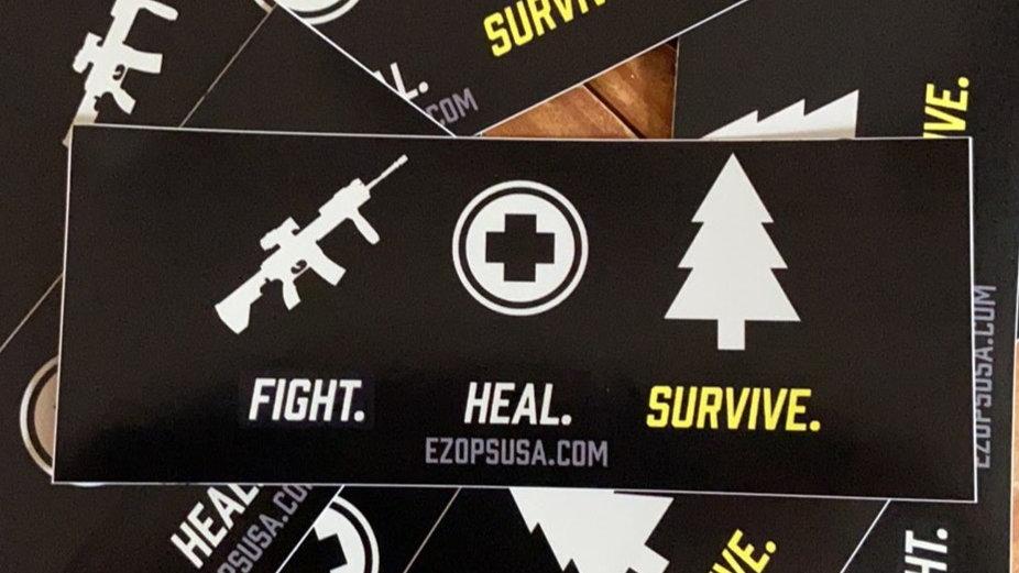 The Motto Sticker