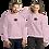 Thumbnail: Rose Flower Embroidered Sweatshirt