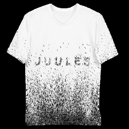 Black On White Splatter T-shirt