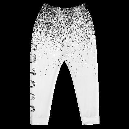 Juules Black On White Splatter Joggers