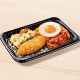 BIGのり弁当(ナポリタン) 550円