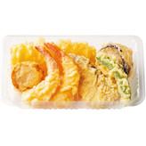 天ぷら盛り合わせ 460円