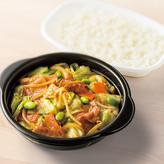 肉野菜炒め弁当 520円