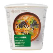 5種の野菜みそ汁 140円