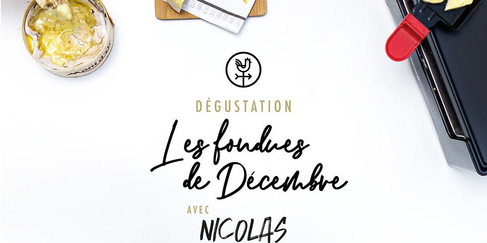 """Dégustation """"Les fondues de décembre"""""""