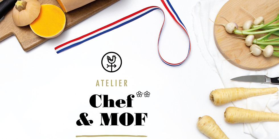 Atelier 2 étoiles et MOF avec Franck Putelat