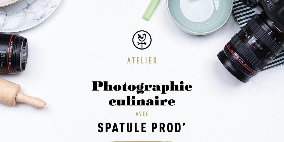 Atelier photographie culinaire