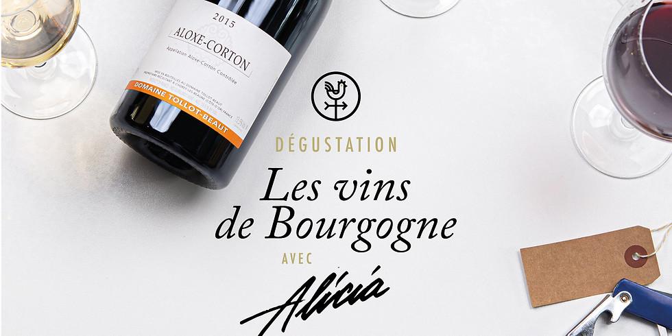 """Dégustation """"Les vins de Bourgogne"""""""
