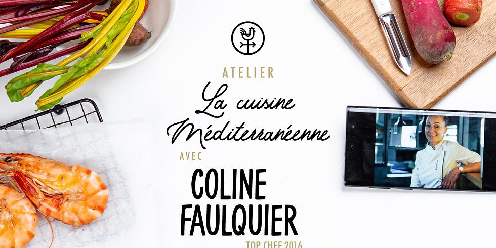"""Atelier """"La cuisine méditerranéenne"""" avec Coline Faulquier (Top chef 2016)"""