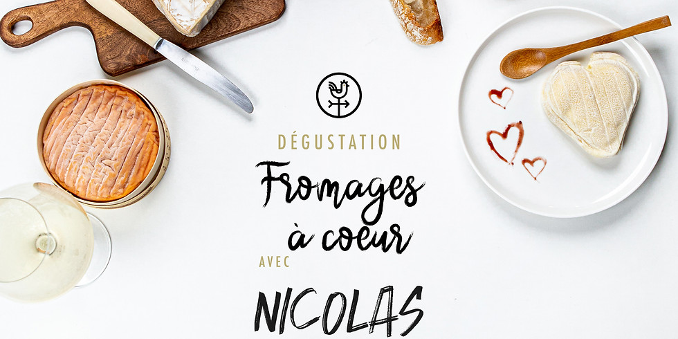 """Dégustation fromage&vin """"Fromage à coeur"""""""
