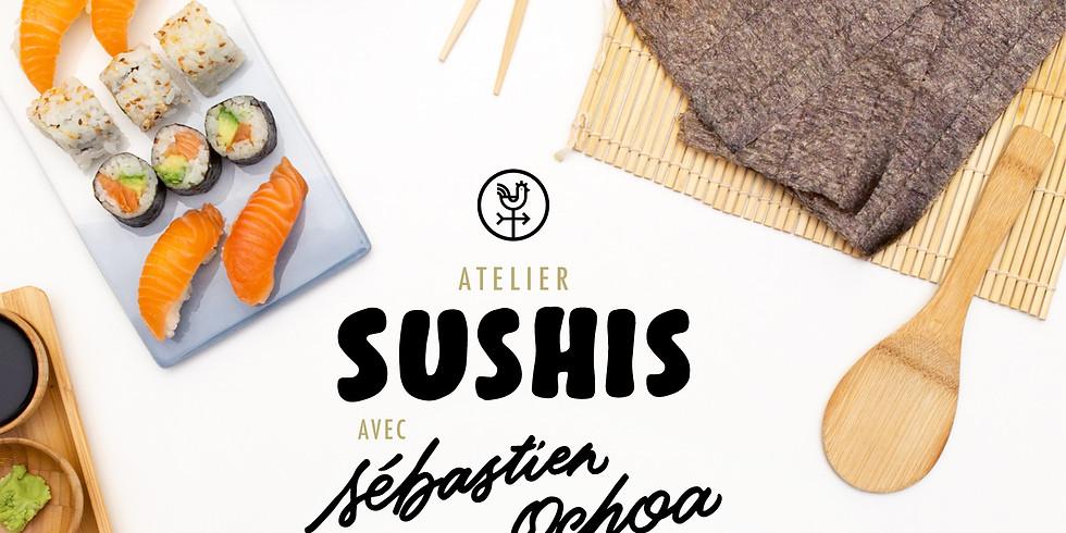 Atelier Sushis- Sébastien Ochoa